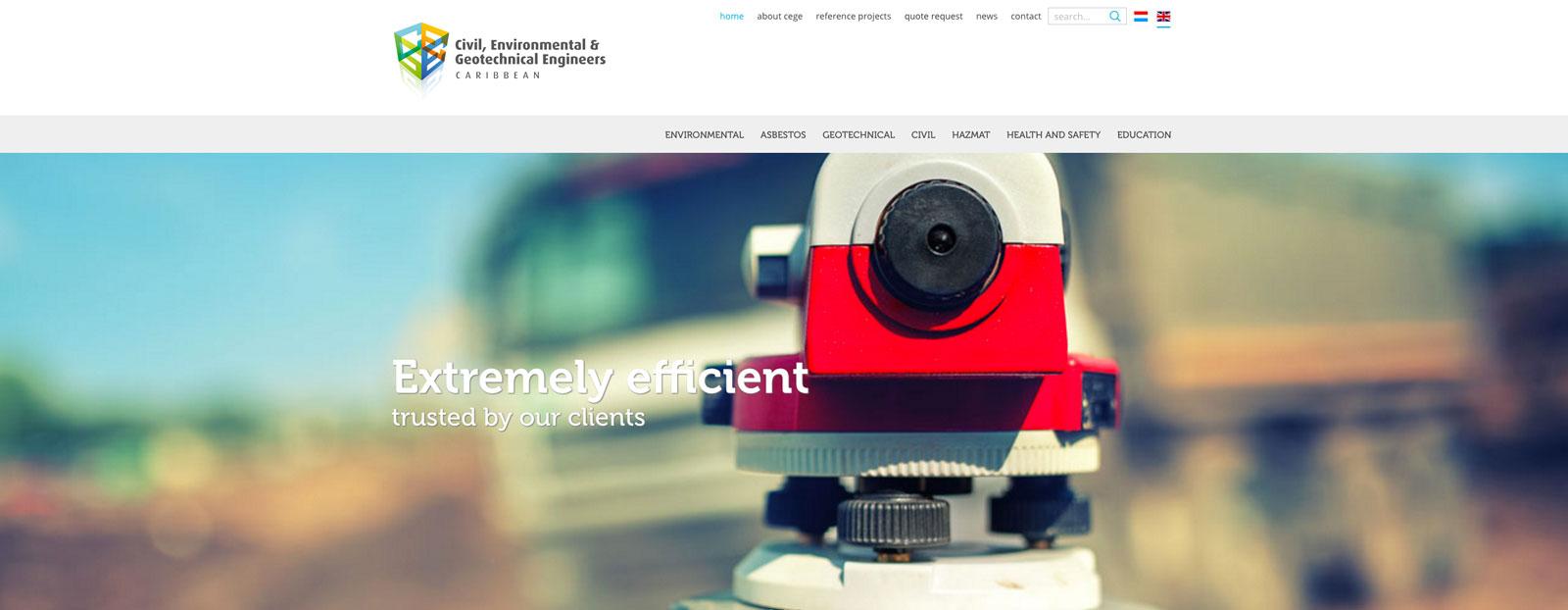 CEGE nieuwsitem nieuwe website